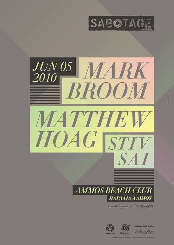 Mark Broom - Matthew Hoag